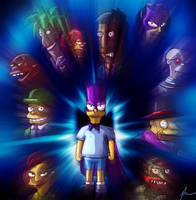 The Bartman and his foes by agentdc7