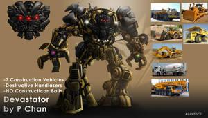 Transformers Movie Devastator by agentdc7