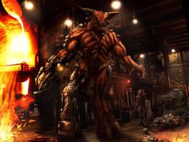 Cyberdemon #2 - Doom by agentdc7