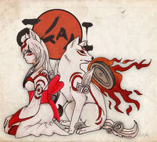 Amaterasu by BreakingSanity