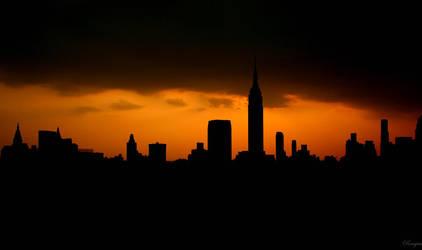 New sunset City by ennil
