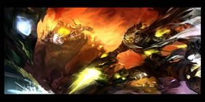 Star Craft vs Warcraft by Benlo