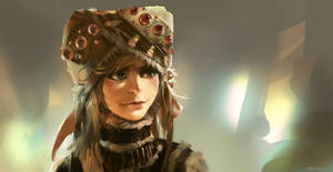 Mongol Girl 3 by Benlo