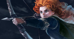 Brave - Merida by Benlo