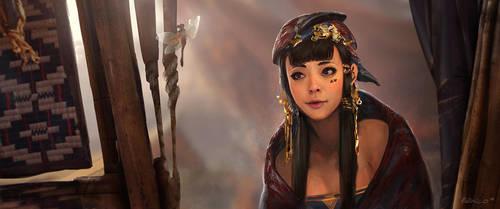 Tribe Princess by Benlo
