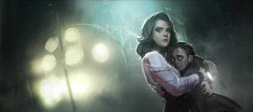 Burial at Sea fanart by Benlo