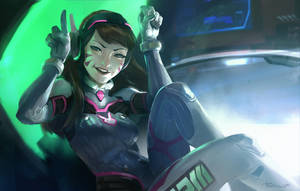 D.VA - 1, Bad guy - 0 by Benlo