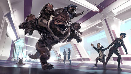 Mass Effect Andromeda - Something to Fight For by Benlo