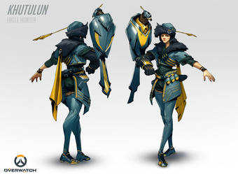 Overwatch - Khutulun, Eagle Hunter by Benlo