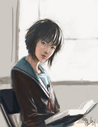 Yuki Nagato by Benlo