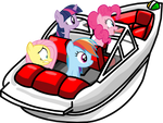 Ponies in the Hydro Hopper by MrDankEngine