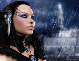 Stormy Skies - For Sabreyn by LeAndraDawn
