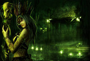 Spirit of the Swamps by LeAndraDawn