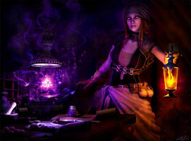 Alchemist's Apprentice by LeAndraDawn