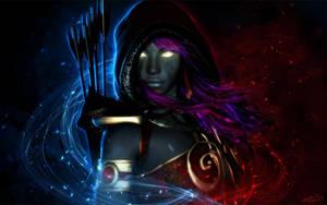 Midnight Huntress by LeAndraDawn
