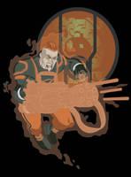 Guy Gardner by paco850