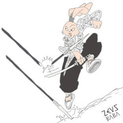 usagi yojimbo! by zeusbaba