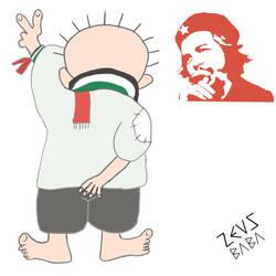Handala Che! by zeusbaba