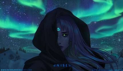.:- Stars speak through me -:. by dNiseb