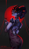 Black Lily Widowmaker by dNiseb