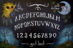 TALKING BOARD by Zombienose
