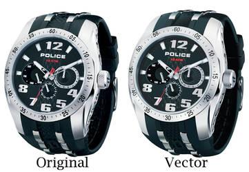 POLICE Watch Vector by Rukis-vWalde