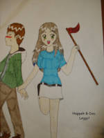 Happeh B-Day, Leggy by Miimloo