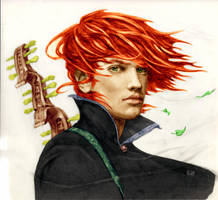 Kvothe by Kim Kincaid painted by predom