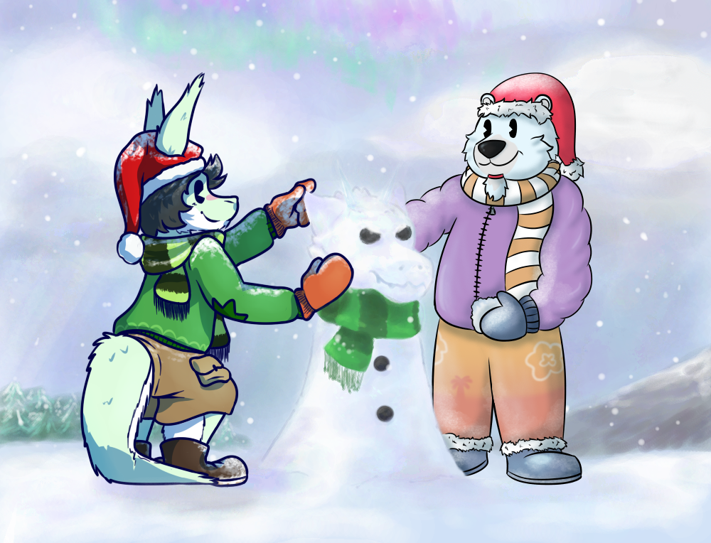 [Collab] Building a snow...fur ? by PyrgusM
