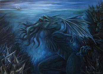 Cthulhu by Ishtir