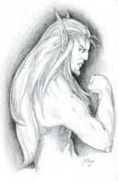 Blood Elf by gyrfalconthegray