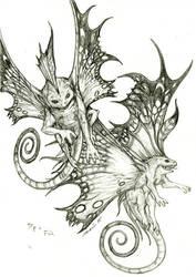 -Pip and Flik- by gyrfalconthegray