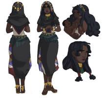 Shy priestess by ligerbombz