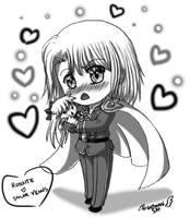 Prize: Kunzite and Sailor V by nightmaresky