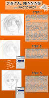 Digitally Penning Photoshop by nightmaresky