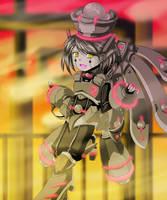 Mecha Girl by nightmaresky