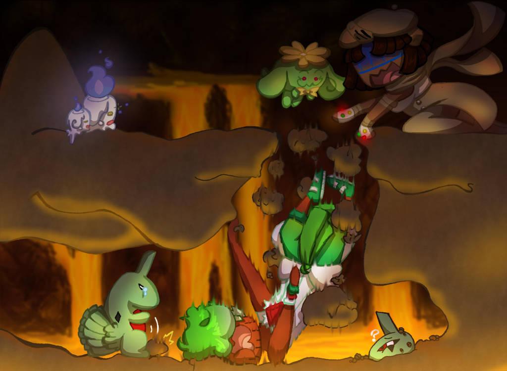 HL: Cave 2 Collab by nightmaresky