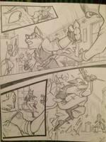 Ulrich's Escape by sparten01