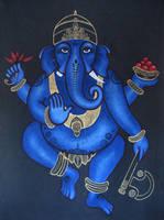 Ganesha by omppu
