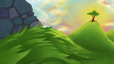 Windy Hills by omppu