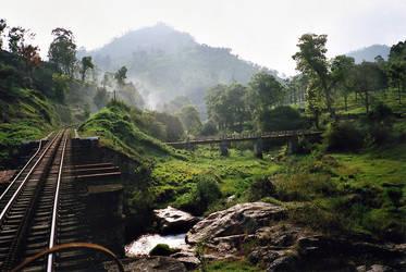 Nilgiri train by Anantaphoto
