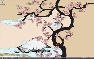 Sakura Desktop by nmsakura