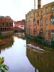 Rowing in Bristol by dogmadic