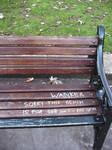Wanker Bench by dogmadic