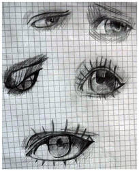eyes 1 by cloudlett