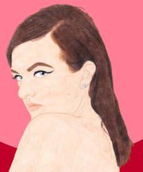 Elisabeth Moss by DeadWoodPete83