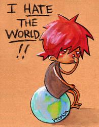 I hate the World by vtophya