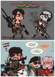 MGSV -Plants vs Zombies- by vtophya