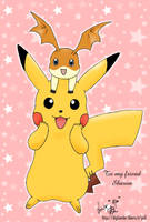 Pokemon and Digimon- gift 4 S by Seiryu6