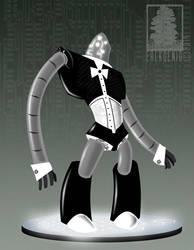 Robot Butler by erlkoenig